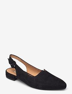 Slings - ballerinas - black