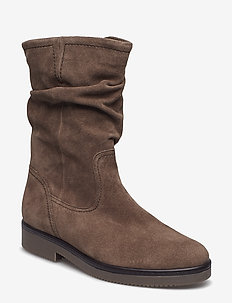 Boots - long boots - brown