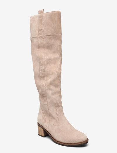 Boot - langskaftede - beige