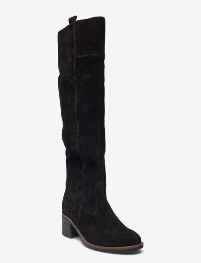 Boot - langskaftede - black