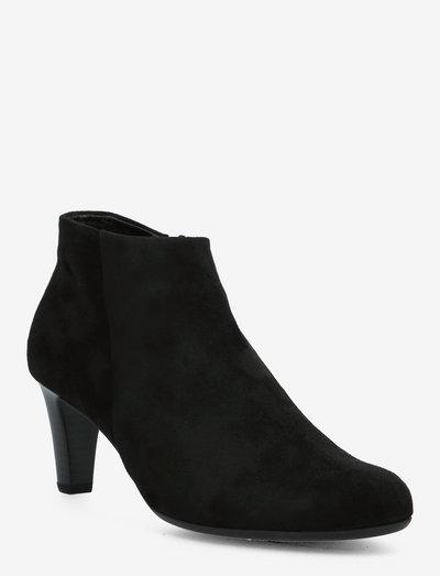 Ankle boot - ankelstøvler med hæl - black