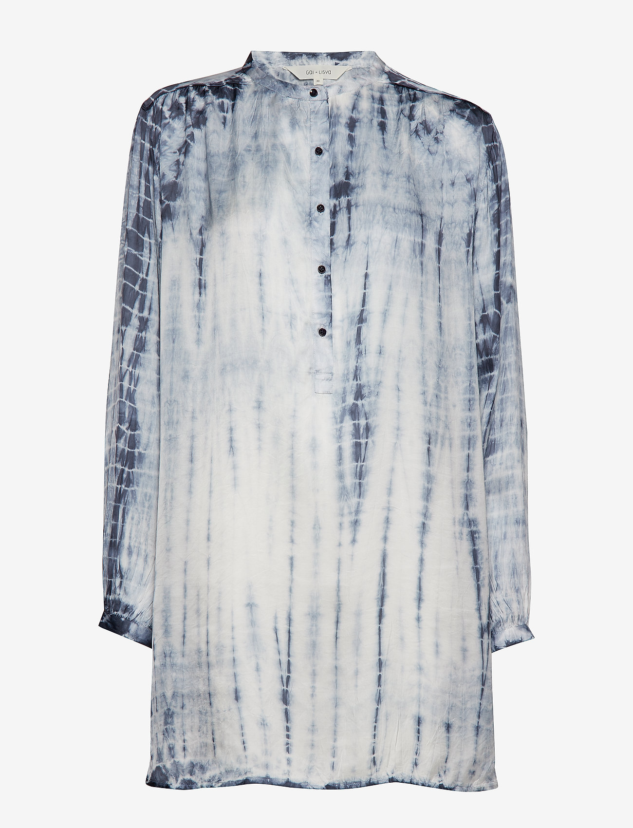 Gai+Lisva - Viola - tunics - ecru/tie dye flint stone