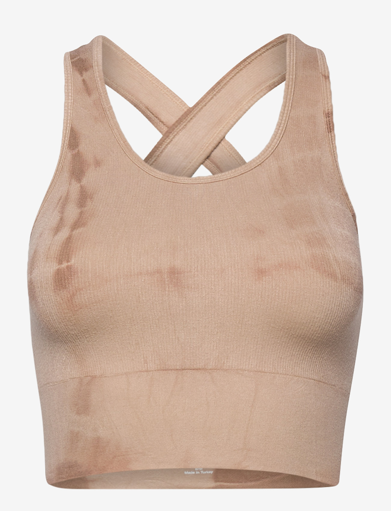 Gai+Lisva - Lifa - crop tops - coublestone with taupe tie dye - 1