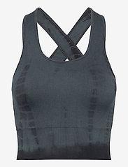 Gai+Lisva - Lifa - crop tops - petrol grey tie dye - 0