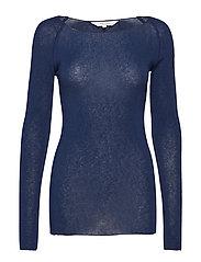 Amalie Solid - DRESS BLUE