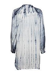 Gai+Lisva - Viola - tunics - ecru/tie dye flint stone - 1