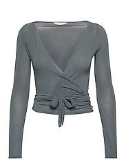 Anne Top - PETROL GREY