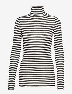 Anna striped - CHATEAU GREY/BLACK