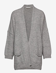 Charlotte - cardigans - light grey melange