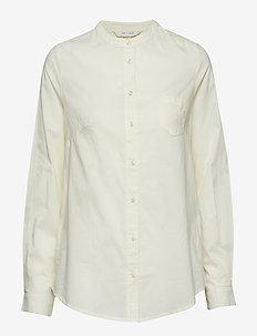 Woodie - langærmede skjorter - transparant yellow