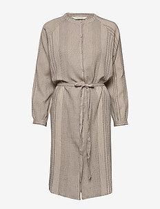 Inga - midi kjoler - chateau grey