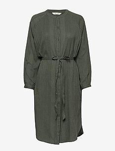Inga - midi kjoler - moss green