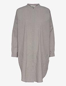 Oline - skjortekjoler - silver scone