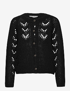 Pernille - cardigans - black