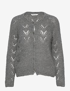 Pernille - cardigans - dark grey