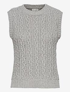 Othilia - neuleliivit - light grey melange