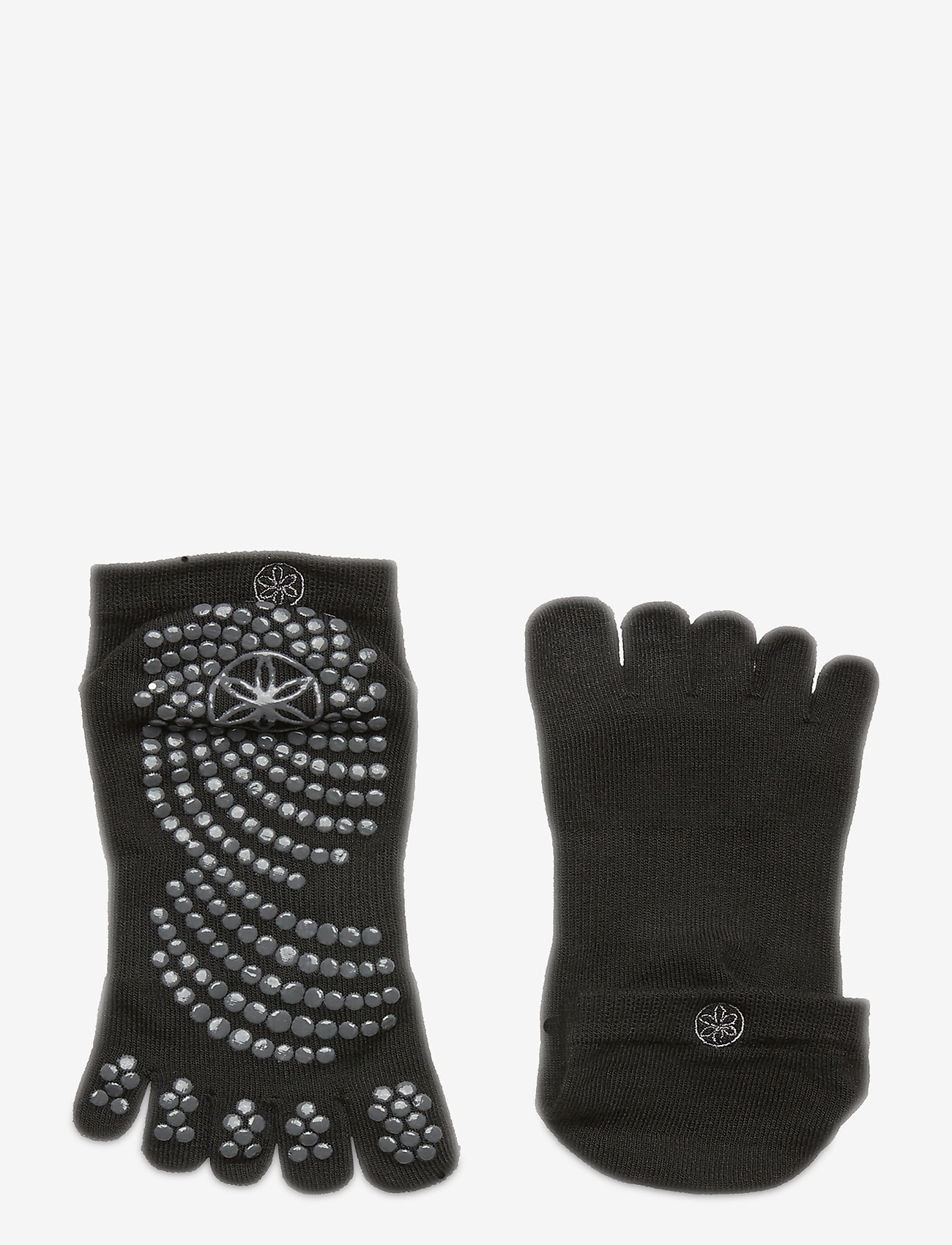 Gaiam - Grippy Yoga Socks - yogamatten & uitrusting - black - 1