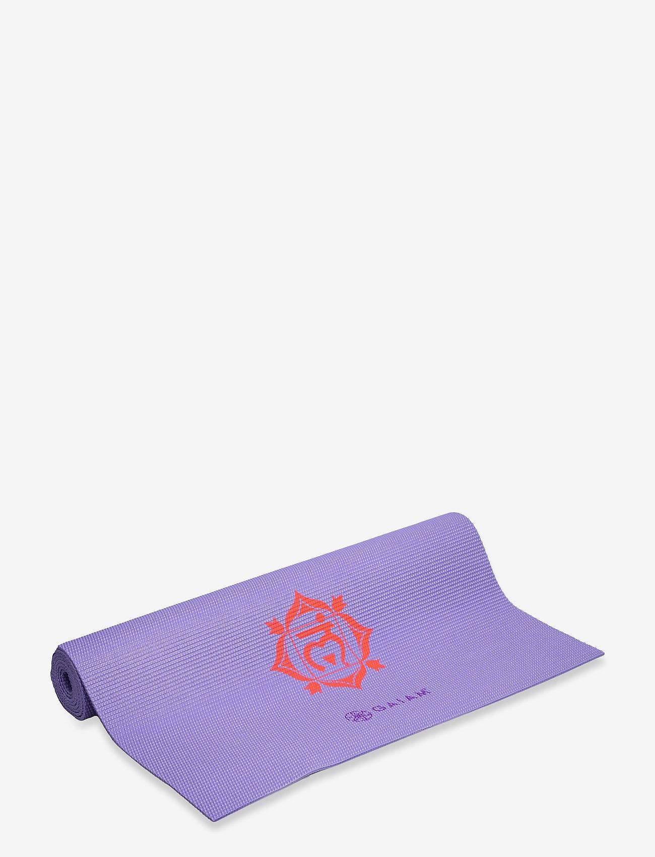 Gaiam - 4mm Yoga Mat Chakra - joogamatot ja tarvikkeet - chakra - 0