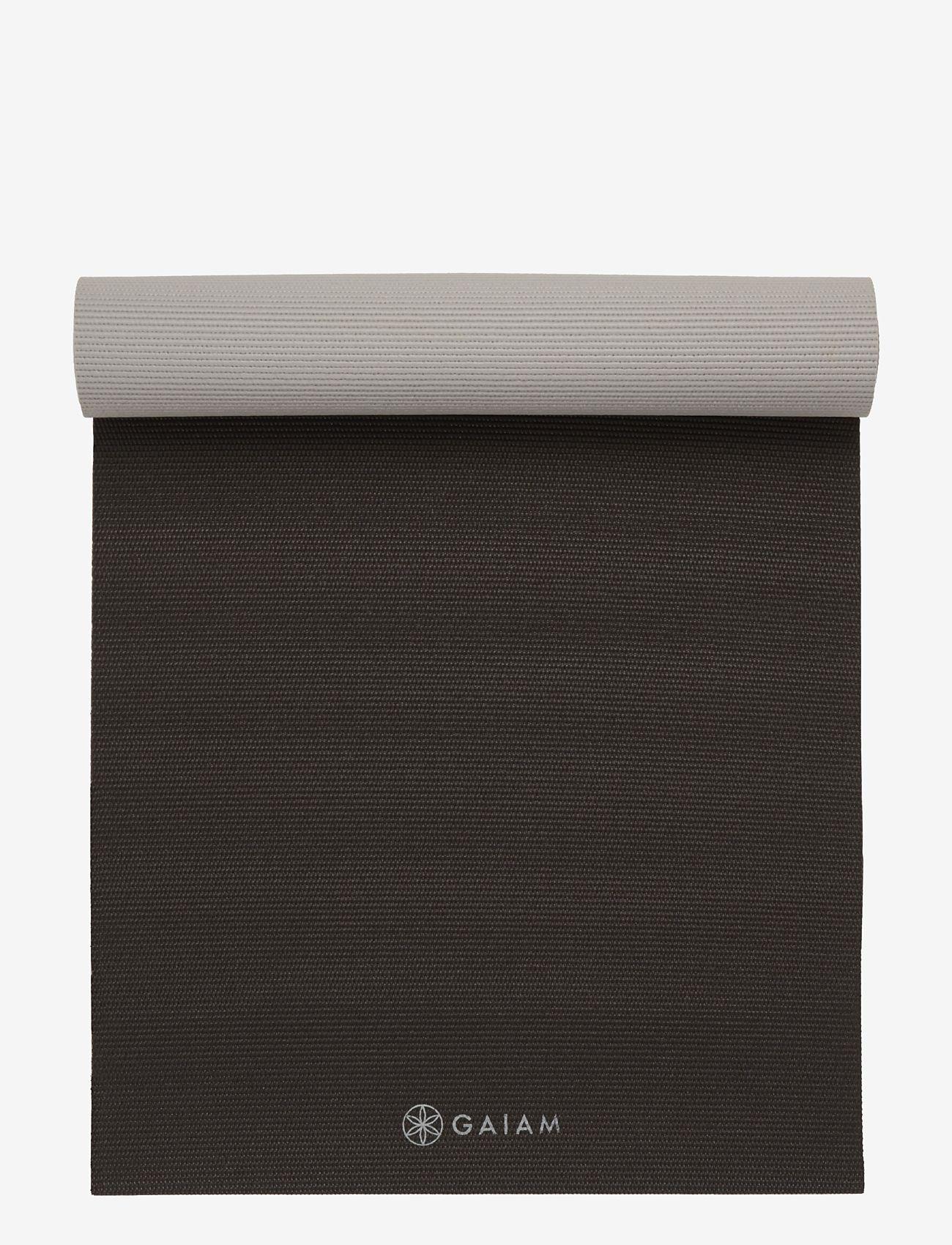 Gaiam - 6mm Yoga Mat 2-color Granite Storm - joogamatot ja tarvikkeet - granite storm - 1