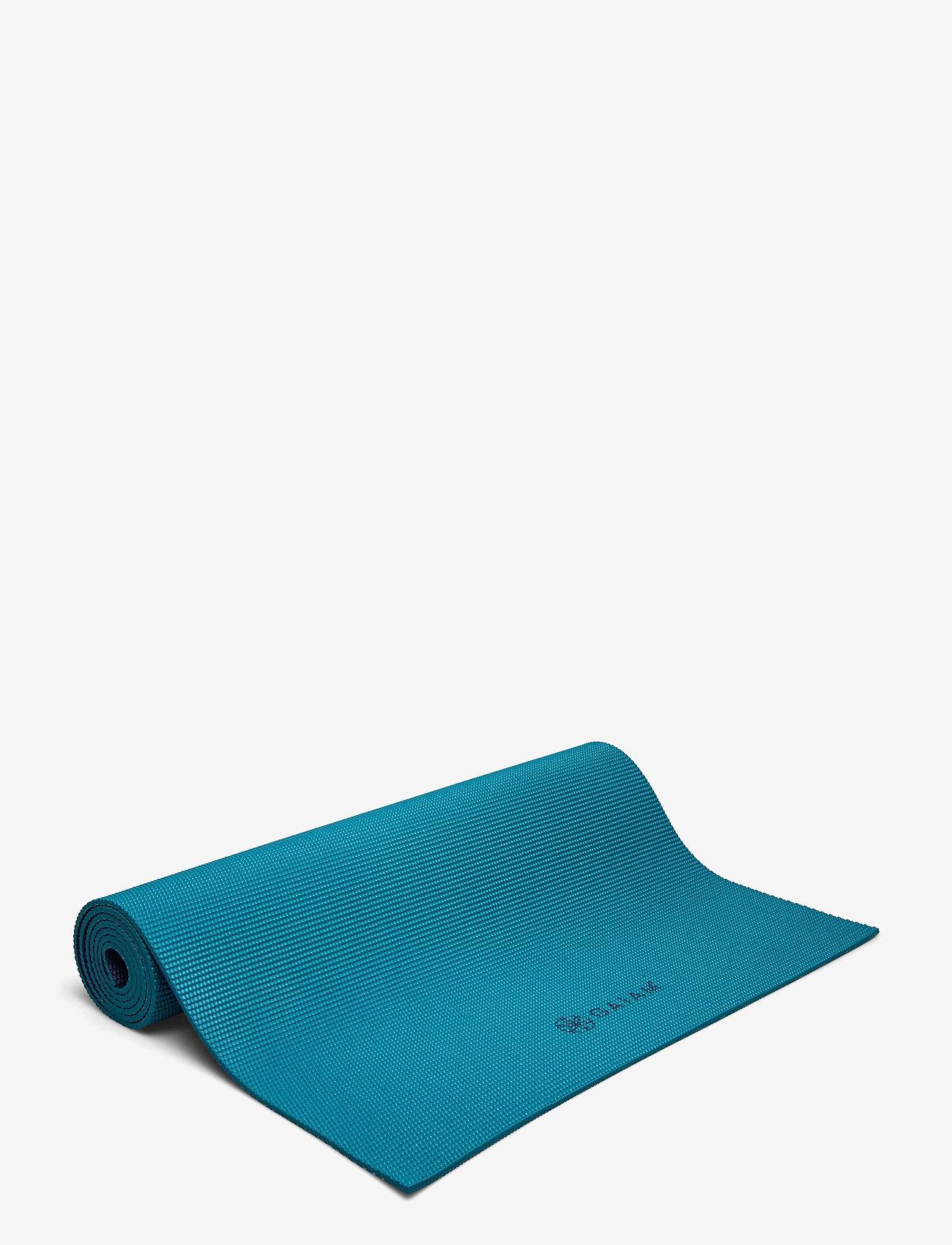 Gaiam - 6mm Yoga Mat 2-Color Navy/Blue - yogamatten & uitrusting - navy/blue - 0
