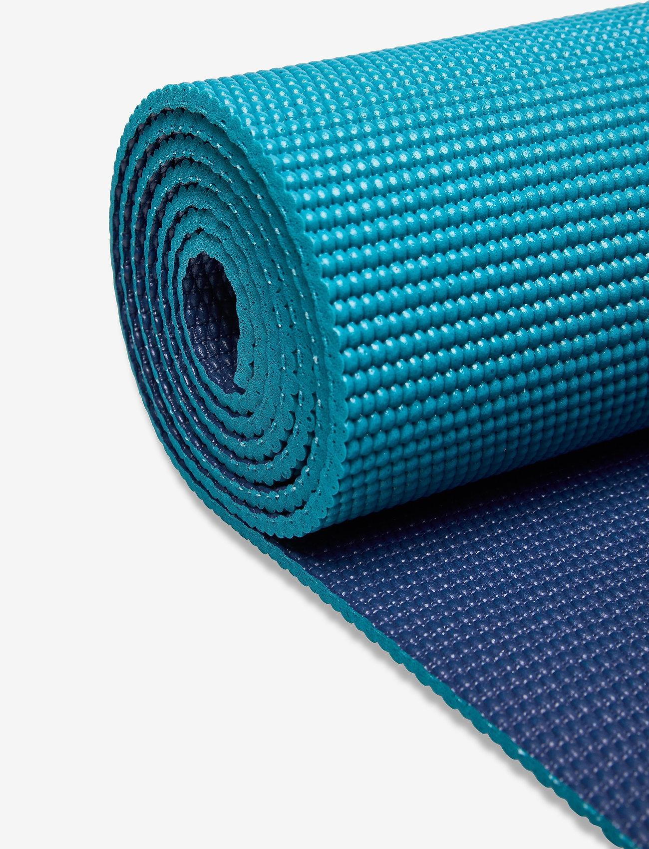 Gaiam - 6mm Yoga Mat 2-Color Navy/Blue - yogamatten & uitrusting - navy/blue - 1