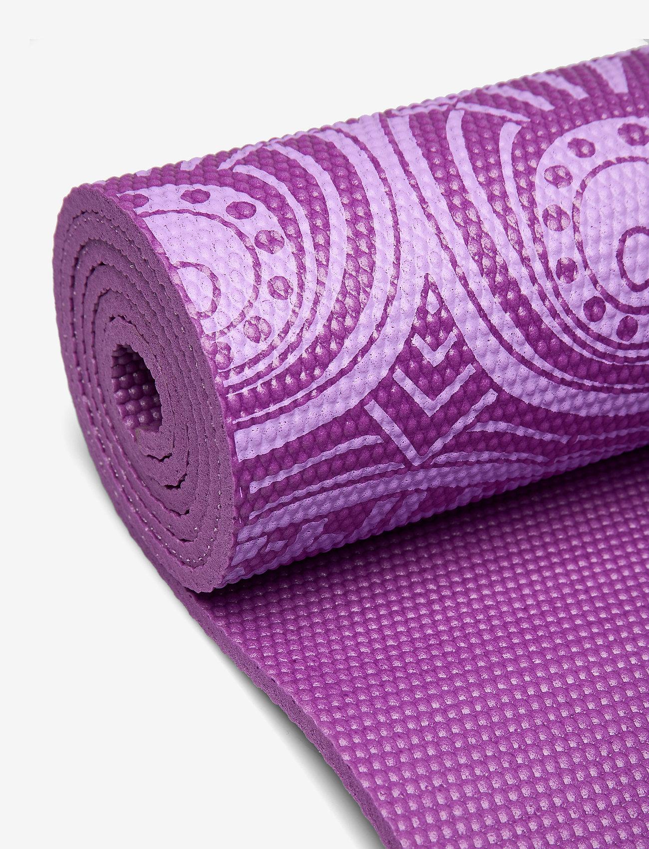 Gaiam - 6mm Yoga Mat Pruple Mandala - joogamatot ja tarvikkeet - purple - 1
