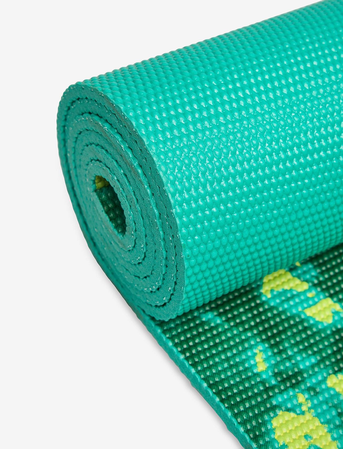 Gaiam - 6MM Yoga Mat Reversible - yogamatten & uitrusting - turquoise, green - 1