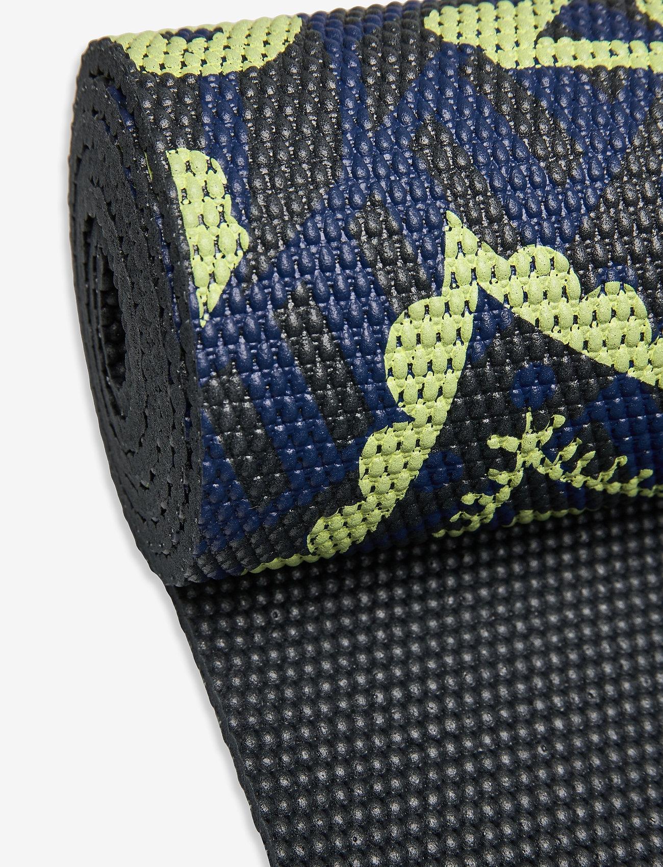 Gaiam - 6mm Yoga Mat Sundial Layers - joogamatot ja tarvikkeet - black - 1