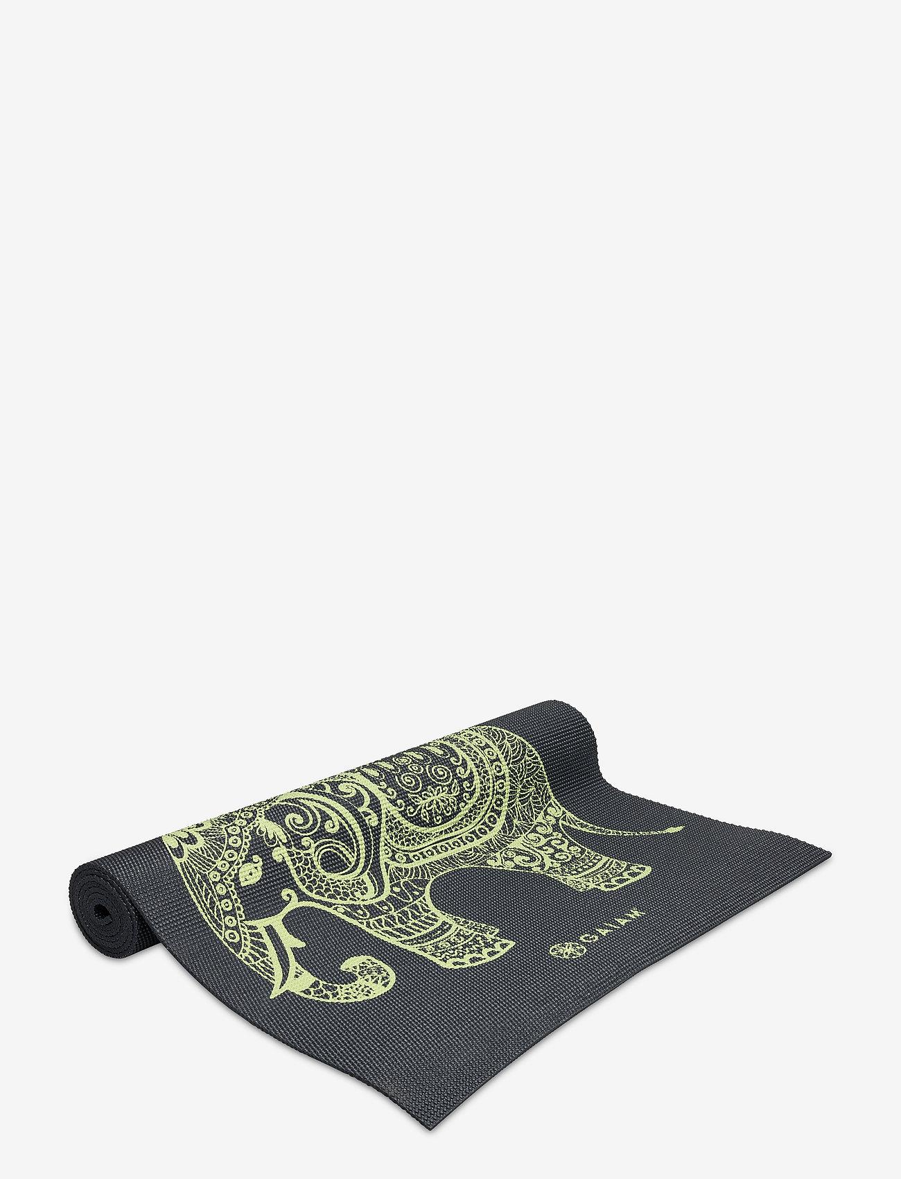 Gaiam - 6MM Yoga Mat Tribal Wisdom - yogamatten & uitrusting - black - 1