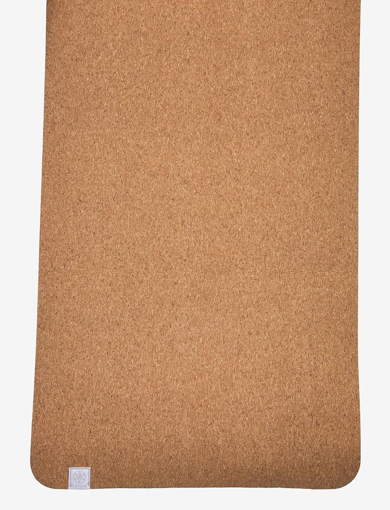 Gaiam - 5mm Yoga Mat Cork - yogamatten & uitrusting - cork - 1