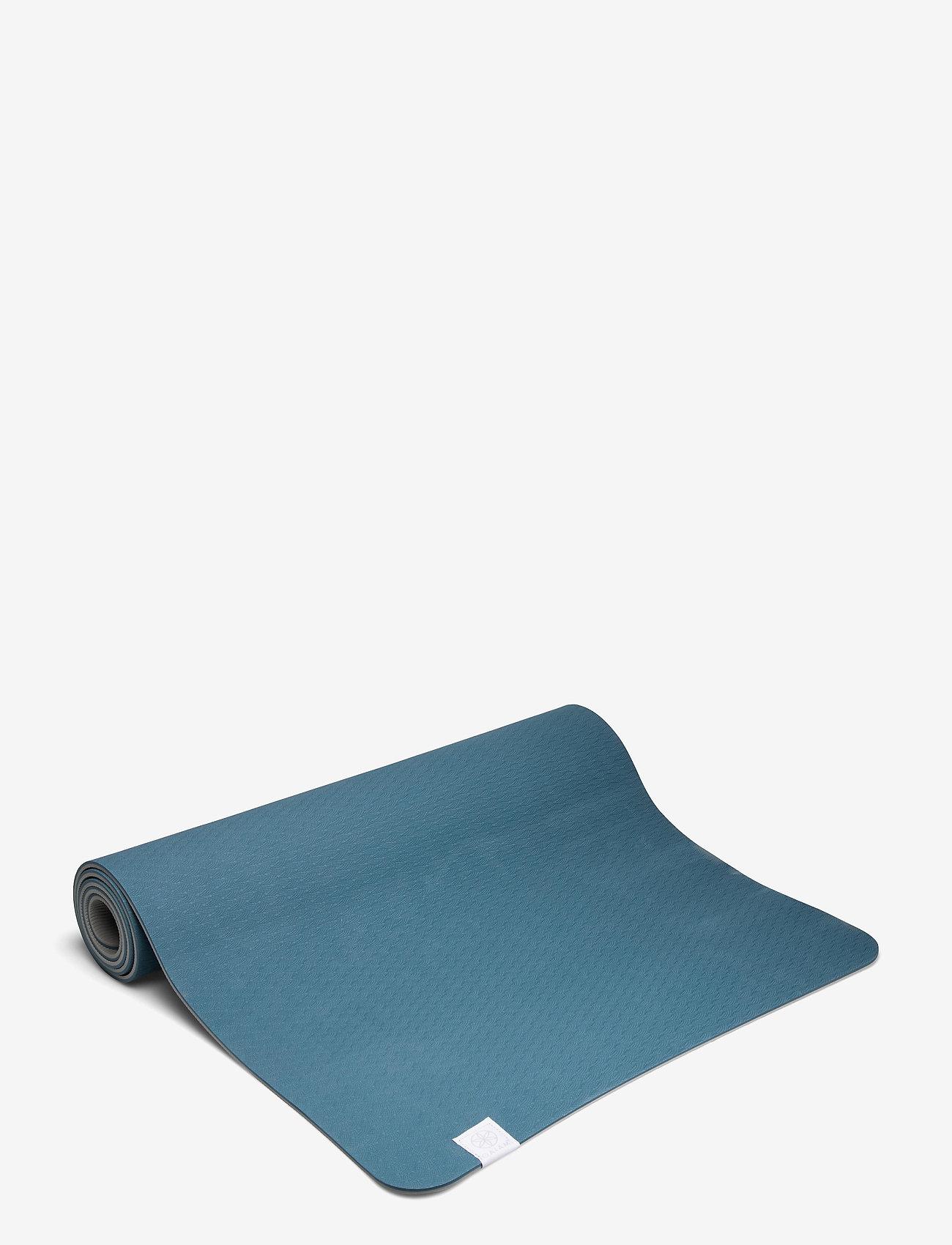 Gaiam - 6mm Yoga Mat TPE Lake - yogamatten & uitrusting - lake - 0