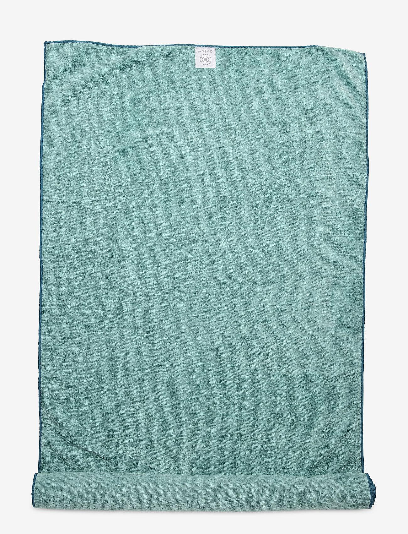 Gaiam - Microfiber Mat Towel Riverside - yogamatten & uitrusting - riverside - 0