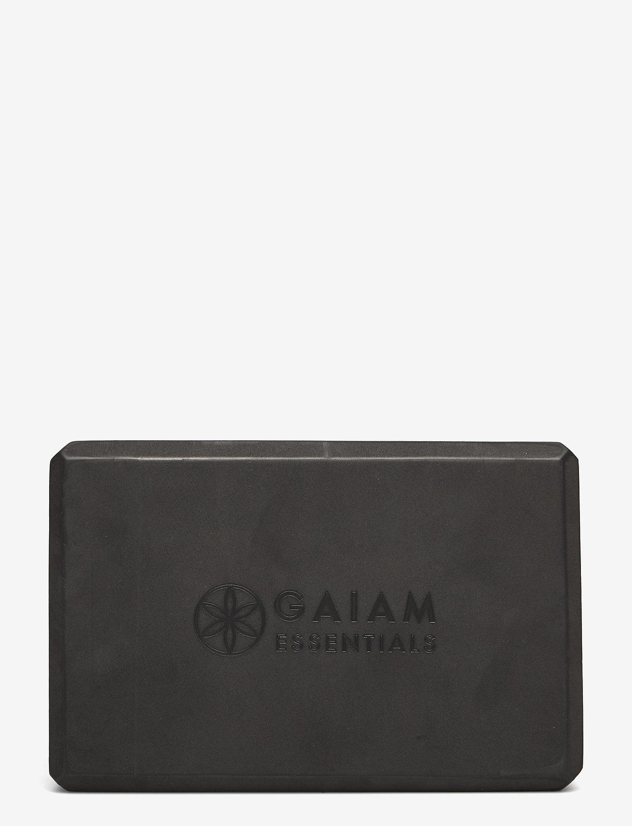 Gaiam - Yoga Brick Essential Black - yogamatten & uitrusting - black - 1