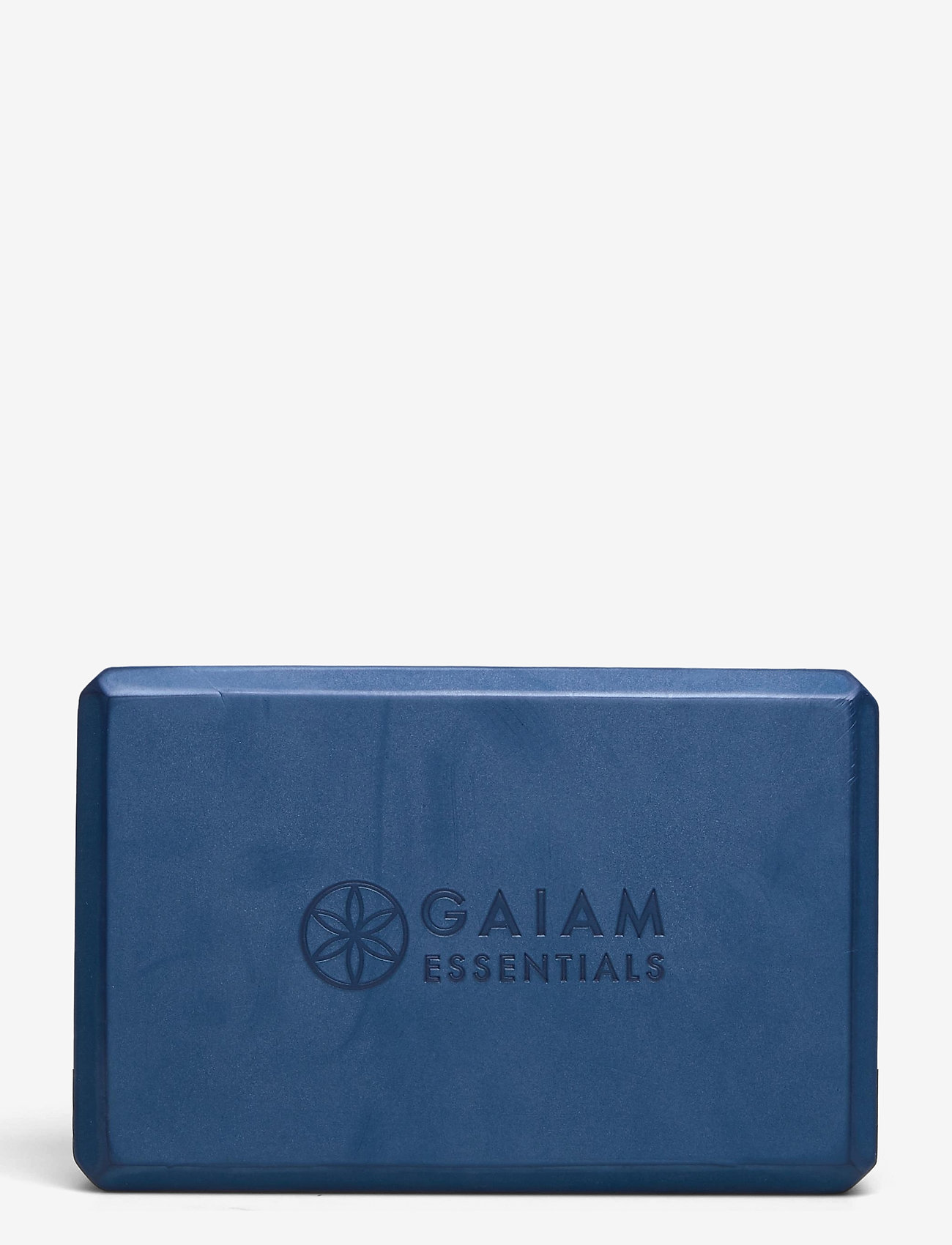 Gaiam - Yoga Brick Essential Blue - joogablokit ja vyöt - blue - 1