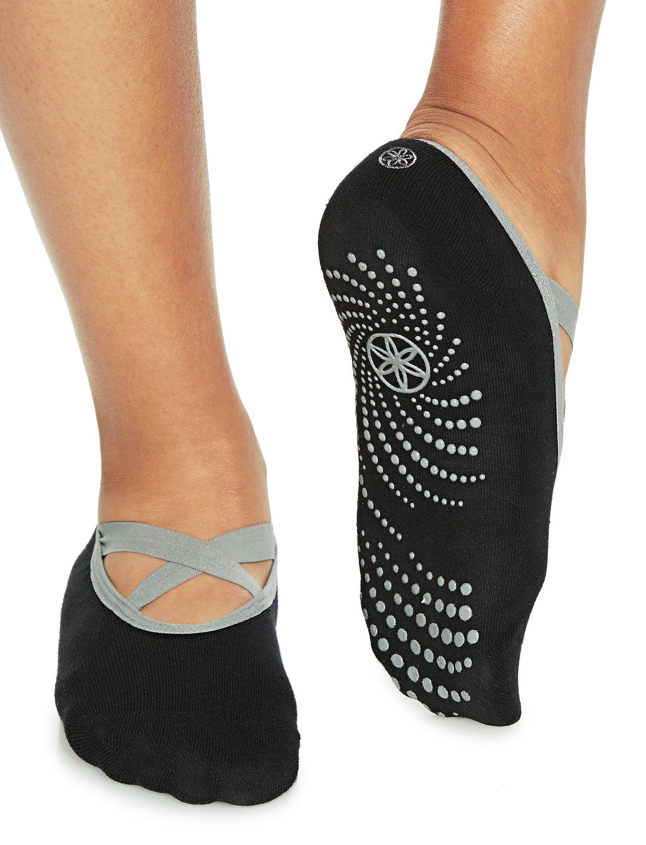 Gaiam - Grippy Yoga Barre Socks - black - 0