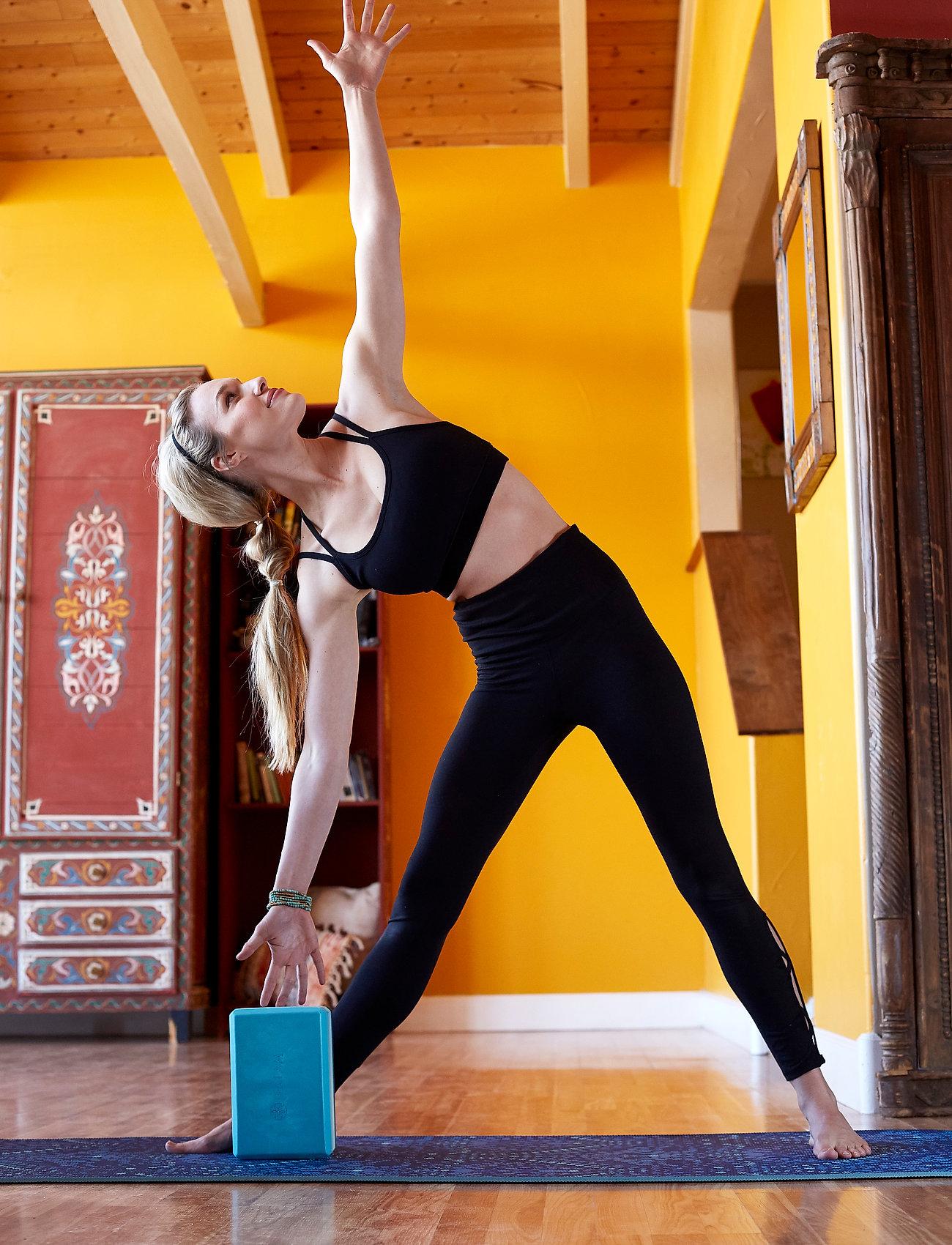 Gaiam - 6mm Yoga Mat Reversible Mystic Sky - joogamatot ja tarvikkeet - blue - 0