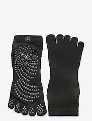 Gaiam - Grippy Yoga Socks M/L - yogasokken - black - 0