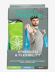Gaiam - Strength & Flexibility - trainingsmateriaal - green, blue, grey - 2
