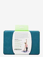 Gaiam - Yoga Block Blue Teal - joogablokit ja vyöt - teal - 2