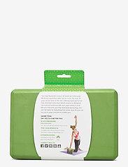 Gaiam - Yoga Block Green - yogamatten & uitrusting - green - 2