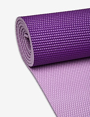 Gaiam - 6mm Yoga Mat Premium 2-Color Plum Jam - yogamatten en -accessoires - purple - 2