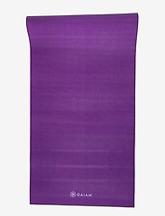 Gaiam - 6mm Yoga Mat Premium 2-Color Plum Jam - yogamatten en -accessoires - purple - 3