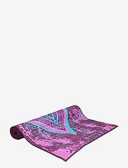 Gaiam - 6mm Yoga Mat Reversible Be Free - yogamatten & uitrusting - black - 1