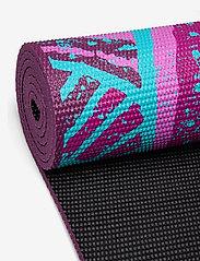 Gaiam - 6mm Yoga Mat Reversible Be Free - yogamatten & uitrusting - black - 2