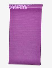 Gaiam - 6mm Yoga Mat Pruple Mandala - joogamatot ja tarvikkeet - purple - 3