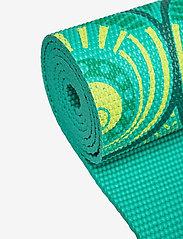 Gaiam - 6MM Yoga Mat Capri - yogamatten en -accessoires - turquoise - 2