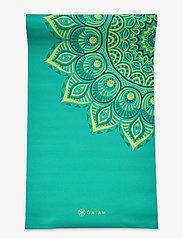 Gaiam - 6MM Yoga Mat Capri - yogamatten en -accessoires - turquoise - 3