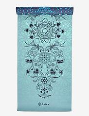 Gaiam - 6mm Yoga Mat Reversible Mystic Sky - joogamatot ja tarvikkeet - blue - 4
