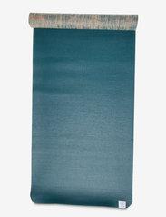 Gaiam - 5mm Yoga Mat Jute - joogamatot ja tarvikkeet - blue - 4
