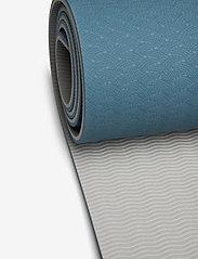 Gaiam - 6mm Yoga Mat TPE Lake - yogamatten & uitrusting - lake - 1